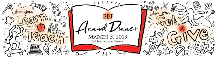 Eugene Education Foundation Annual Dinner 2019 Ticket